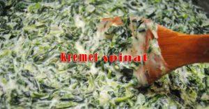 Kremet spinat