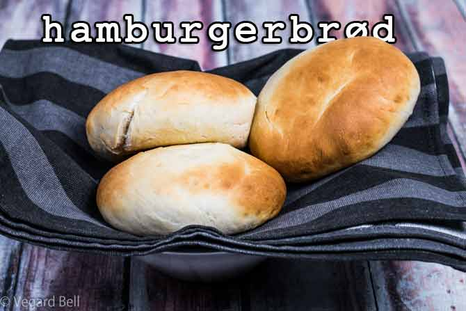 verdens beste hamburgerbrød