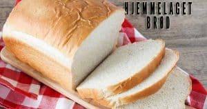 Saftig hjemmelaget brød