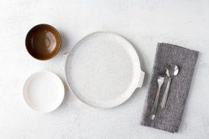 intermitterende faste, tallerken uten mat