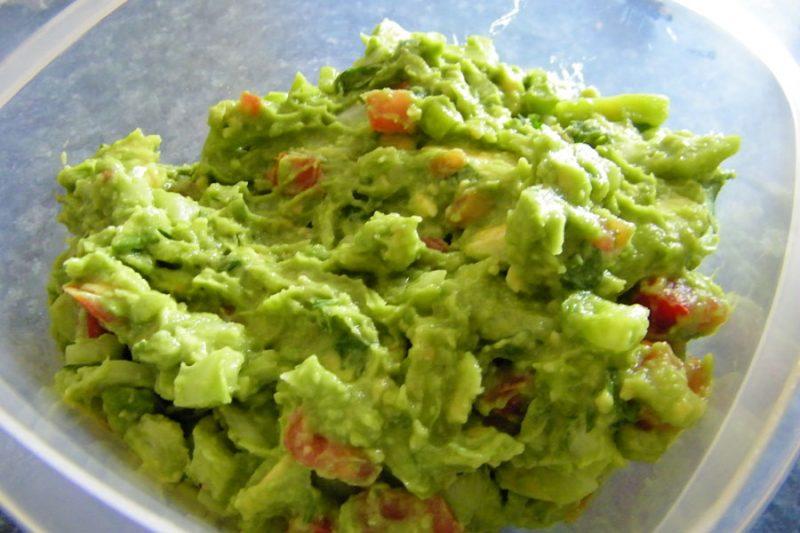 hjemmelaget guacamole
